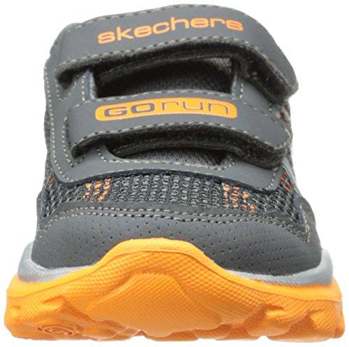 Skechers - Scarpe a collo basso, Bambino Grigio