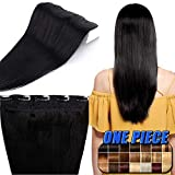 """16""""-22"""" Remy Clip in Human Hair Extensions One Piece 16 Inch 45 Gram"""