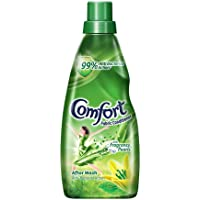Comfort After Wash Fabric Conditioner, 99.9% anti-bacterial action along with all day freshness and lasting fragrance…