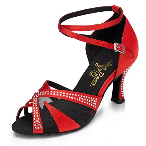Meijili - Ballroom donna 165 Red