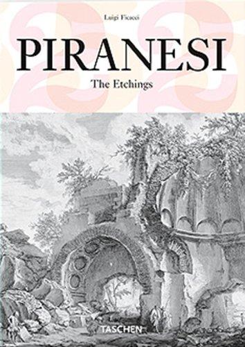 Piranesi. Ediz. italiana, spagnola e portoghese (Varia 25) por Luigi Ficacci