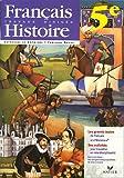 Français-Histoire 5e : Travaux dirigés