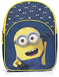 04c6311eb12f Children s Minions Rucksack Backpack 33 x 25 x10 cm Nursery Rucksack for  Boys ...