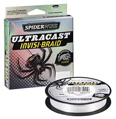 Spiderwire Ultracast Invis-braid 300 yard Spool 20lb-50lb from Spiderwire