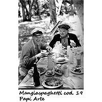 Mangiaspaghetti # 19 cm 70x100 Stanlio e Ol Poster Cinema Film Italiano papiarte