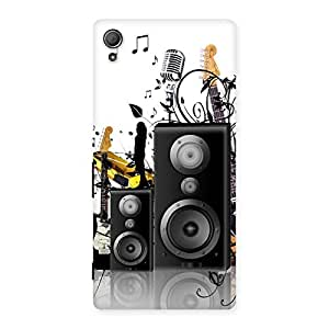 Special Music Comp Multicolor Back Case Cover for Xperia Z4