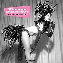 Vintage Burlesque Wall Calendar 2018 (Art Calendar)