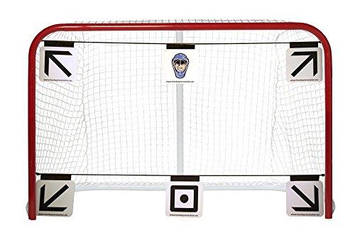 Hockey Revolution 6-piece Goal Targets Sharp Shooting Training Aid–My Target Pro