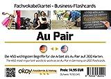 Fach-Vokabel - Lernkartei Au Pair - Deutsch-Englisch im Kunststoff-Karteikasten (hochwertig, transparent) - Format DIN A7 Vokabelkartei