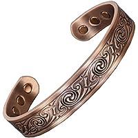 Damen Celtic Kupfer magnetisch Armbänder für Arthritis Pain Relief Karpaltunnel Tennis Elbow, Kupfer Armband–... preisvergleich bei billige-tabletten.eu