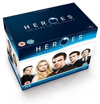 Heroes - Seasons 1-4 [Blu-ray] [UK Import]