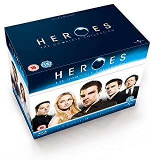 Heroes - Season 1-4 Complete [Blu-ray] [Region Free] (B003BEDTDC) | Amazon price tracker / tracking, Amazon price history charts, Amazon price watches, Amazon price drop alerts