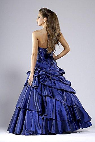 Ballkleid Abendkleid, schlanke Optik, Größe 32/34 Blau Blau