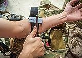 Uvistar Garrot, Combat Application Tourniquet, Tourniquet Application Militaire pour les Premiers Soins, Trousse de Survie, Traitement Médical Traitement Conventionnel Transfusion, Sang, Transfusion Sanguine, Morsures de Serpent, Hémostase d'urgence