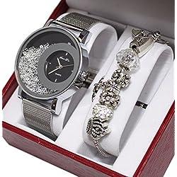 Regalo reloj mujer + pulsera charms perlas colección Dolce Vita, ED Limitada.