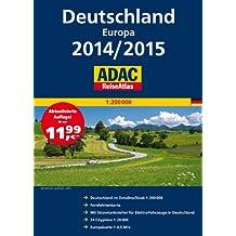 ADAC ReiseAtlas Deutschland, Europa 2014/2015 1:200 000