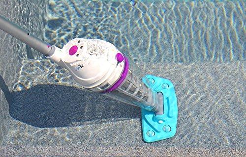 WelaSol® Pool Sauger / Akku Schwimmbad Reiniger / Pool Roboter Handsauger / Poolsauger Modell 2018