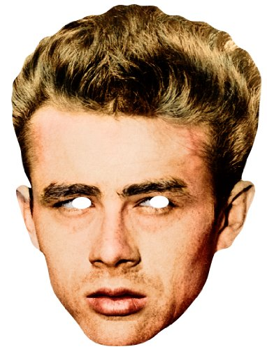 te Gesichtsmaske von James Dean Rebel (James Dean Kostüm)