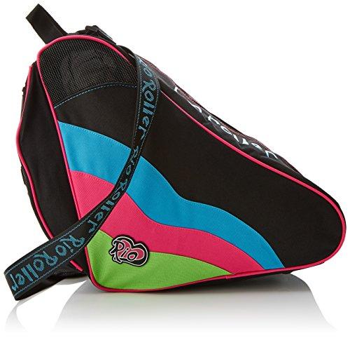 Rio Roller Unisex-Erwachsene Bag Spokey Skate-Rollentasche, Mehrfarbig, 24x15x45 centimeters