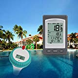 RONSHIN, termometro Galleggiante Wireless a Distanza per Piscina, Stagno Caldo, Spa