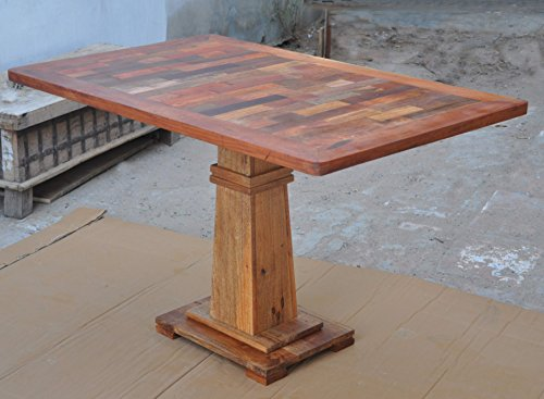 Antique Rustic Esstisch aus recyceltem Holz, rustikal, handgefertigt