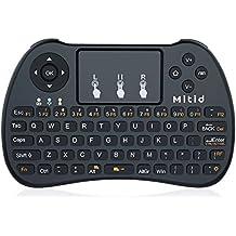 Mitid 2.4g Mini teclado inalámbrico con Touchpad para Google Android TV Box, Smart TV, IPTV