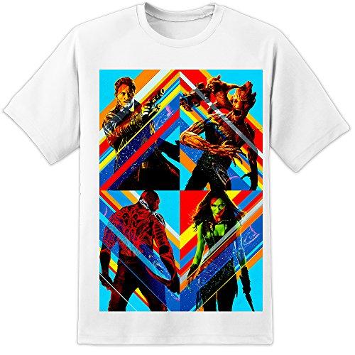 DPX-1 -  T-shirt - Uomo White Large