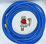 Kupplungskopf rot mit Druckluftschlauch 10m/20m oder 30m Werkstattanschluss LKW (Schlauch 10m)