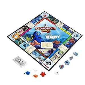 Hasbro - B8618 - Jeu de Plateau - Monopoly Junior - Dory
