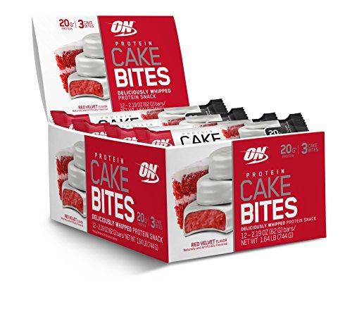 Optimum Nutrition - La torta della proteina morde il velluto rosso - 12 Bar - 5100VmiPo2L