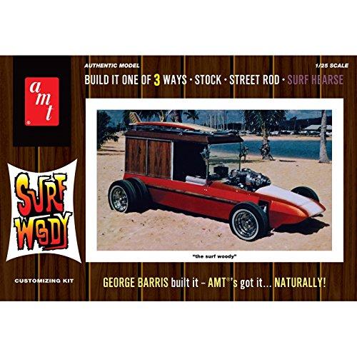 AMT AMT977, scala 1:25 .000, colore: arancione, con George Barris Woody Surf modello Kit