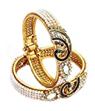 JDX Gold Plated Bangles Set for Women an...