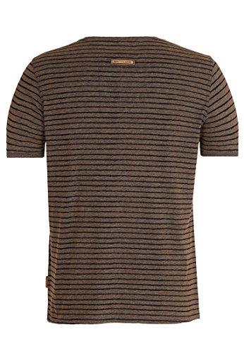 Naketano Male T-Shirt Dieser Schwanz III Heritage Anthracite Melange