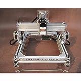 2000MW Alulegierung Desktop DIY CNC Laser Gravierer Engraver Gravur Gravieren Schnitzen Schneiden Maschine Graviermaschine Drucker Laserdrucker A5