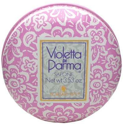 Borsari 1870 di Parma Violetta di Parma floral Sapone con Padella, Unisex, 100 g