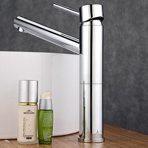 Luxury Classic fontanería hardware de salida de agua de mezclado de cobre el baño Tapss CSÁSZÁR