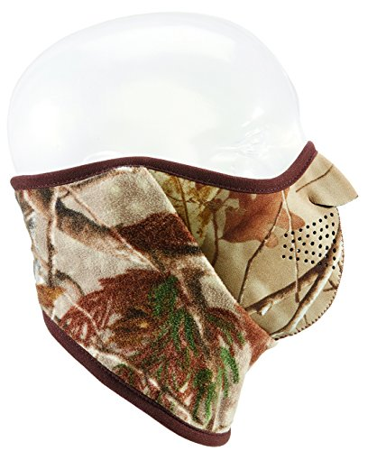 Seirus Innovation Neofleece Combo Schal Polartec Gesicht Maske & Hals Wärmer, real Tree Xtra, mittel (Fleece-scarve Seirus)