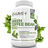 Reiner Extrakt aus Grünen Kaffeebohnen - Maximale Stärke Fatburner -