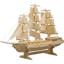 Peter Bausch 869-Modelado Kit de vela de madera Barco 80 Piezas
