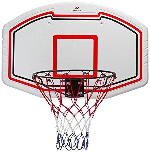 Pro Touch Basketball-Board Set-71685100001 Badminton, Weiß/Schw/Rot 1