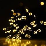 Lichterkette Außen | LED Lichterkette | infinitoo 200er 20m Niedrigspannung Lichterkette Warmweiß Lichterkette für Innenraum, Hochzeit, Party, Haushalt, Halloween, Weihnachten Deko