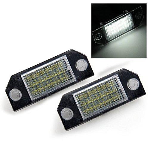 toogoo-r-1-paar-24-led-ii-ford-focus-c-max-kennzeichenbeleuchtungen-weiss