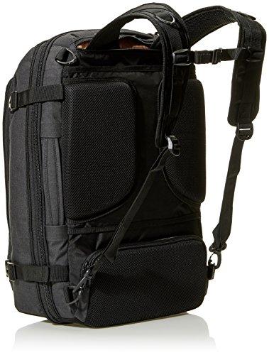 Best amazon backpacks in India 2020 AmazonBasics Slim Carry On Laptop Travel Weekender Backpack - Black Image 3