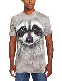 The Mountain Unisexe Adulte Tete De Raton Laveur T Shirt