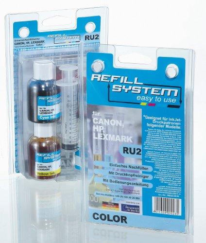Preisvergleich Produktbild KMP RU2 Tintenpatrone Universal-Refillsystem color für Canon, HP, Lexmark