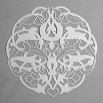 21 x 15 x 1 cm Efco Stencil Ornament 3//1 Design /ø 15 cm