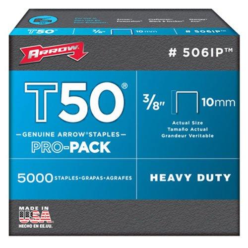 """Freccia a506ip punti metallici, T50, 3/8"""", 10mm (Confezione da 5000)"""