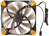 Antec TrueQuiet 120mm Toolless Mounting Dual Speed Fan with White LED