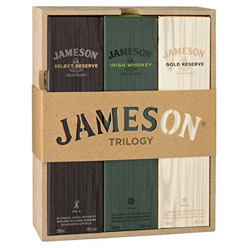 Jameson Irish Whisky Trilogy Premium Pack (3x20cl)