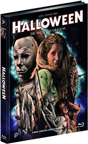 (Halloween 1 - Die Nacht des Grauens - Mediabook auf Blu-ray und DVD + CD-Soundtrack (+ diverse Bonusfilme auf Blu-ray und DVD) [Limited Edition])